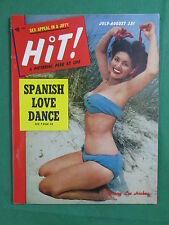 Vintage HIT! Magazine July-Aug. 1952 DONNA LEE HICKEY Covergirl