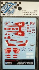 DECALS F'ARTEFICE FL-0029 F1 1/43 HONDA RA106 TURKISH GP 2006
