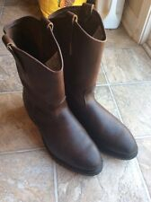 Red Wing 1114 Western Engineer Motorcycle Work Pecos Boots 11.5D 11 1/2 MADE USA