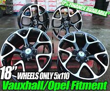 """18"""" x4 VAUXHALL ASTRA VXR INSIGNIA ZAFIRA STYLE ALLOY WHEELS Ask For Tyre Polish"""