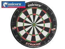 *BRAND NEW* UNICORN - STRIKER BRISTLE DARTBOARD - BLACK/RED/GREEN