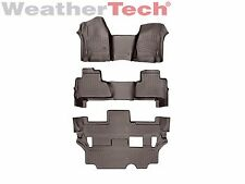 WeatherTech FloorLiner for GMC Yukon OTH w/ 2nd Row Bench - 2015-2017 - Cocoa