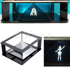 Universal 3D Holographic Pyramid Projection Projector For 6''~12'' iPad Tablet