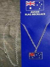 Halskette mit Anhänger Flagge Australien Fahne