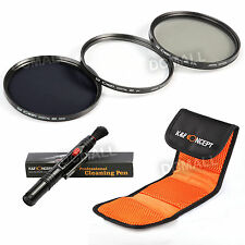 77mm UV ND8 CPL Polarizing ND Lens Filter Kit For Canon EF-S 10-22mm f/3.5-4.5