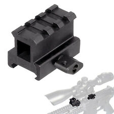 High Quality 3 slot Riser Mount for Rifles w/ Picatinny or Weaver rail System.