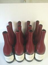 EMPTY WINE BOTTLES 750 ML BURGUNDY STYLE WITH WAX ON .(CASE OF 12)