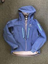 Arc'teryx Alpha SV men's jacket medium Gore-Tex Pro Poseidon blue mint condition