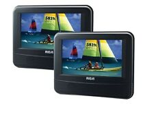 "RCA DRC69705E22 7"" Dual Screen Mobile DVD System with Remote"