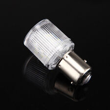 White 12V 1157 Motorcycle Car Tail Stop LED Brake Light Lamp 360° Bulb Lighting