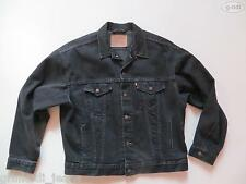 Levi's® Biker Jacke Jeansjacke Gr. XL schwarz, TOP ! Original Black Denim, RAR !