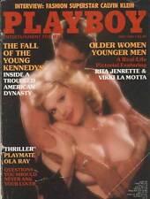 US PLAYBOY 1984/05 [May  5/84] Rita Jenrette * Patty Duffek *Calvin Klein* Z 2-3