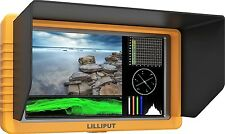 "LILLIPUT 5"" Q5 FULL HD Metal slim Waveform Time code SDI/HDMI cross conversion"