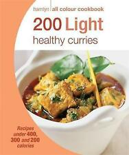 200 Light Healthy Curries: Hamlyn All Colour Cookbook, Good Condition Book, , IS