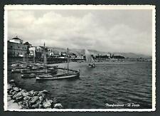 Manfredonia ( Foggia ) : Il Porto - cartolina viaggiata nel 1956