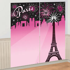 Paris Eiffel Tower France French Scene Setter Fireworks  Party Decoration
