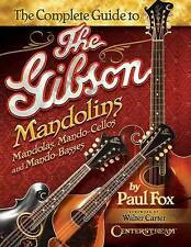 PAUL FOX-CO. GUIDE TO THE GIBSON MANDOLINS  BOOK NEW