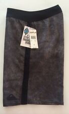 quiksilver board shorts size 28 cypher hyperbole 20 inches long color smoke