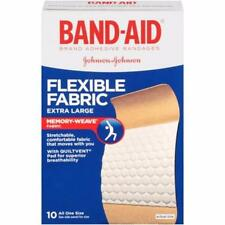Band-Aid Brand Flexible Fabric Adhesive Bandages, Extra Large, 10 count