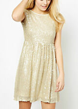 New Coco's Fortune Sequin party wedding Dress RRP £60.00 UK 10