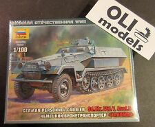1/100 German Personnel Carrier Sd.Kfz.251/1 Ausf.B - Zvezda 6127