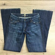 7 For All Mankind 'A' pocket Bootcut Women's Jeans Size 27 L32 (Q4)