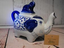 ELEPHANT TEAPOT NOVELTY TEA POT COLLECTORS GIFT ceramic novelty tea pot present