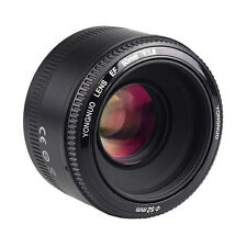 Yongnuo YN 50mm AF MF New Standard Prime Fixed Lens for Canon EOS DSLR Camera