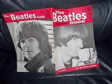 THE BEATLES MONTHLY BOOK APRIL 1966 No.33 NEAR MINT 32 PAGES MANY UNIQUE PIX ETC