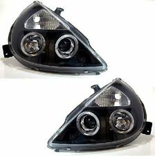 Ford Ka (1996-2008) Black Halo AngelEye proyector Frente Faros Luces-Par
