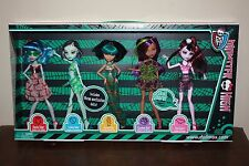 Monster High dolls Skull Shores 5 pack New in Box Exclusive BRAND NEW!