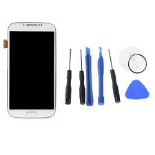 White For Samsung Galaxy S4 i9505 LCD Display Touch Screen Digitizer +Frame Tool