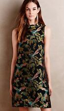 Anthropologie Shangri-la Jacquard Swing Dress By Leifsdottir Sz 4 New