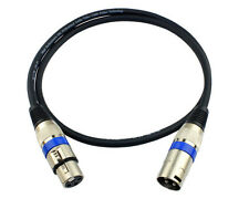 HOT PACK XLR 3Pin 1M/3Ft Male Female Mic Microphone Audio Cord Shielded Cable