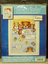 "Tobin Baby Counted Cross Stitch Kit 11"" x 14""    Under The Covers   Sampler"