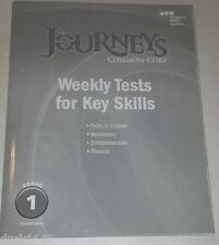 Journeys Common Core: Weekly Tests For Key Skills Grade 1