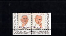 Aitutaki 2011 MNH Beatification Pope John Paul II 2v Set Religion Popes Benedict