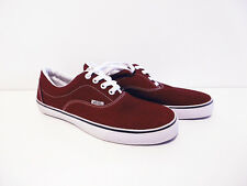 GENUINE LADIES VANS RED SHOES SIZE US 6.0 / UK 5 - MADE IN USA