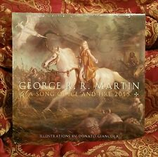 *NEW,SEALED & RARE* Game of Thrones, A Song of Ice & Fire Calendar, 2015, Martin
