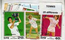 TENNIS 25 timbres différents