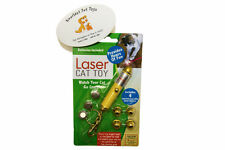 Best Cat Toys Red Dot Laser Light Pointer w 4 Different Shapes w Extra Batteries