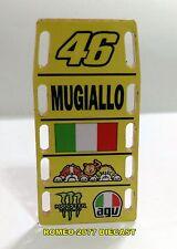 """1:12 Pit board pitboards Valentino Rossi """"Mugiallo"""" Mugello 2016 no minichamps"""