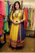 Indian Stylish Designer Bollywood Party Anarkali Suit Salwar Kameez Dress Women