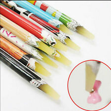 Nail Art Crystal Rhinestones Beads Picker Wax Pencil Supplies DIY Pen Decor Tool