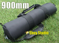 "90cm 35"" Pad Camera Video Tripod Bag Travel Case For Gitzo Velbon Manfrotto Slik"
