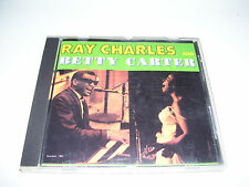 Ray Charles And Betty Carter - Untitled * RARE FRANCE CASTLE CD 1988 *