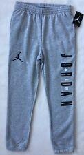 Nike Air Jordan Boys Sweatpants MEDIUM Grey Jogger Athletic Pant Jumpman NWT $50