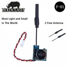 Boldclash F-01 5.8GHz 48CH Antishock AIO TX Micro FPV Camera Combo - Tiny Whoop