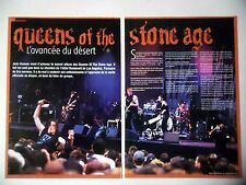 COUPURE DE PRESSE-CLIPPING : QUEENS OF THE STONE AGE [6pages] 06/2007 Josh Homme