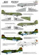 Authentic Decals 1/72 DOUGLAS C-47 (DC-3) & LISUNOV Li-2 In the Russian Sky
